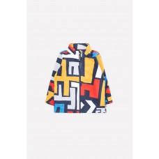 34025/н/20 куртка/синий, цветной лабиринт