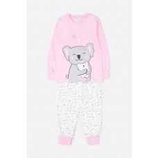 1512 Пижама/розовый, коалы на сахаре