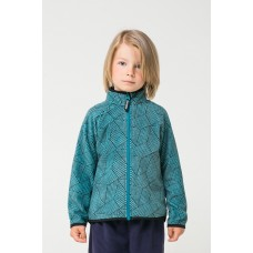 34011/н/37 Куртка /голубой, геометрия