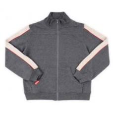 3974 Куртка/т.серый меланж