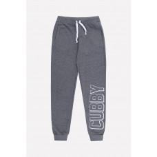 4848 брюки/тем.серый меланж