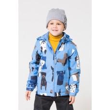30080/Н/1 Куртка /морской бриз, собаки