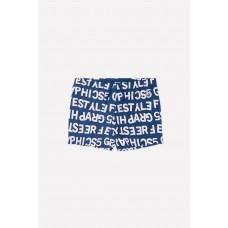 19002/10н Плавки для мальчика/темно-синий, буквы
