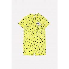 16007/3н Купальник /яркий лимон, леопард