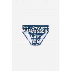 18004/3н Плавки для мальчика/темно-синий, буквы
