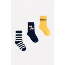 9621-3/2 ФВ носки/темно-синий, желтый