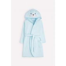 5481 халат детский/небесный(мишка