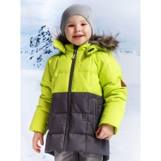 34023/1 куртка/салатовый / графит