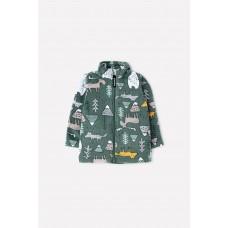 34025/н/28 куртка/темный лес, мишки и друзья