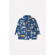 34025/н/27 куртка/ультрамарин, мишки и друзья