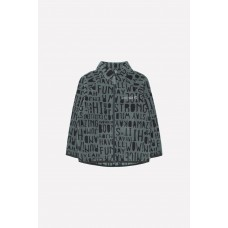 34011/н/32 Куртка /зеленый, буквы