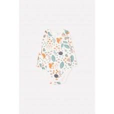 6342 п/комбинезон/осенняя пора на белой лилии