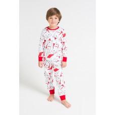 1550 пижама/супермишки на белом