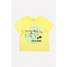 300671-1 Фуфайка/бледный лимон1