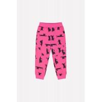 4730 брюки/ярко-розовый, мультгерой к213