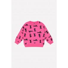 300750 джемпер/ярко-розовый, мультгерой к213