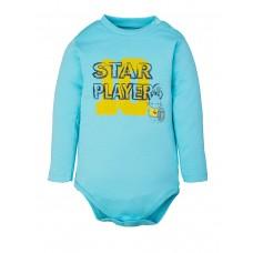 "49 Боди большие ""Star turquoise"""